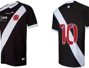 nova camisa vasco (Foto: VIPCOMM)