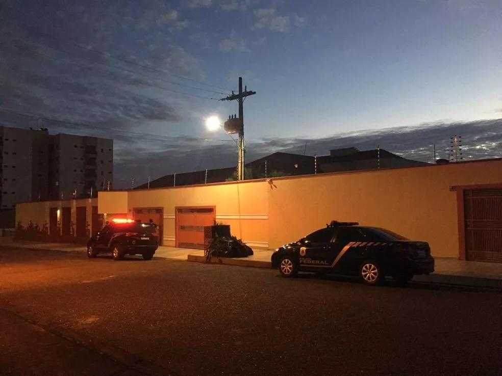 Operação Dracma é realizada em Porto Velho nesta quinta-feira — Foto: Carolina Brazil/Rede Amazônica