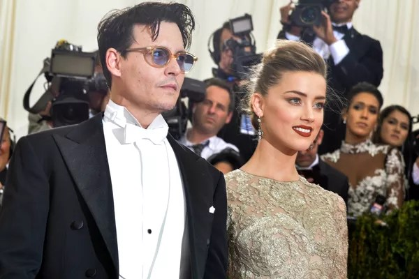 Johnny Depp and Amber Heard: less muzzly to get married. (Photo: Getty Images)