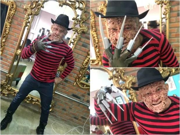 Professor aplica prova vestido de Freddy Krueger, da 'Hora do Pesadelo' - Site Cultural de Feijó