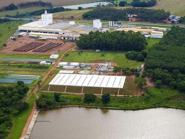Laticínio inaugura Estação de Tratamento de Efluentes em Bela Vista de Goiás (Foto: Divulgação)