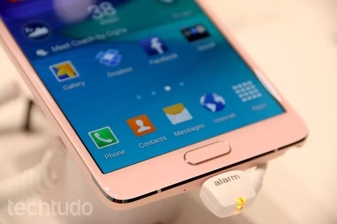 Galaxy Note 4 (Foto: Fabricio Vitorino/TechTudo)