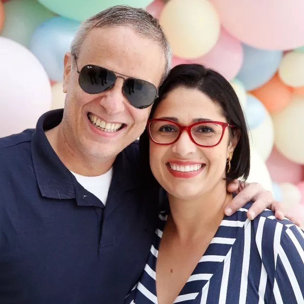 Dudu Braga and his wife, Valeska (Photo: Reproduction/Instagram)
