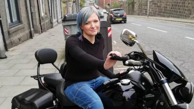 Becky Rudkin tem diabulimia, transtorno alimentar que pode levar à morte — Foto: Becky Rudkin/via BBC
