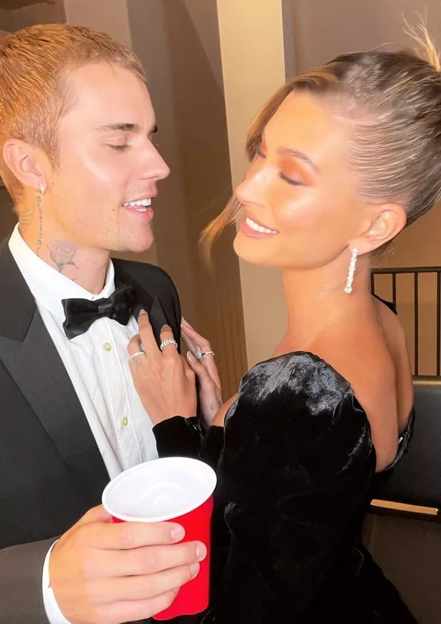 Justin and Hailey Bieber (Photo: Reproduction)