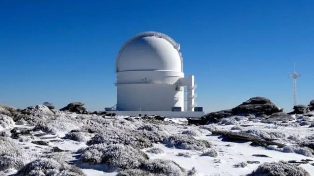 A estrela foi descoberta usando o observatório Calar Alto, na Espanha — Foto: Calar Alto Observatory
