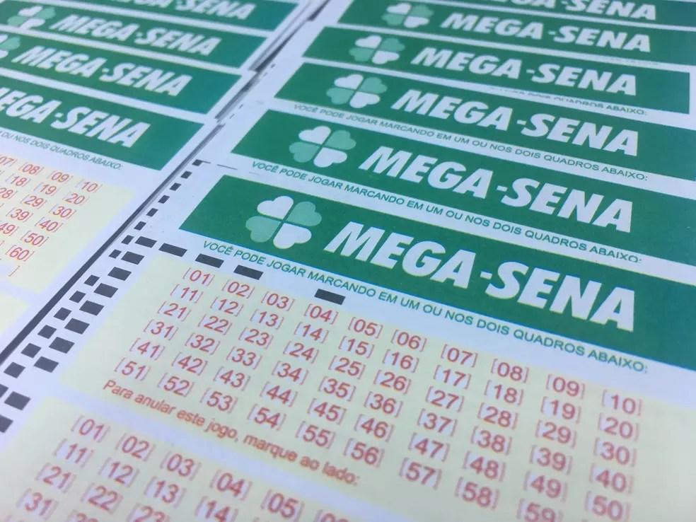 Mega-Sena: concurso 2.057 ocorreu neste sábado (7) (Foto: Stephanie Fonseca/G1)