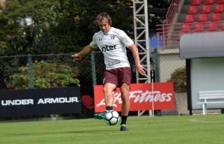 Lugano tem contrato até o fim do ano (Foto: Erico Leonan / site oficial do SPFC)