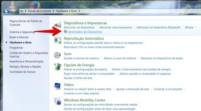 Abra o Gerenciador de Dispositivos do Windows (Foto: Reprodução/Filipe Garrett)