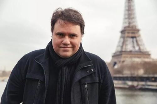 Rodrigo Rodrigues chegou à Globo em janeiro de 2019 — Foto: arquivo pessoal