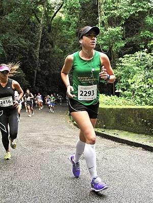 Juliana Salgado Corrida Eu Atleta treino em ladeiras (Foto: Divulgação / Arquivo Pessoal)