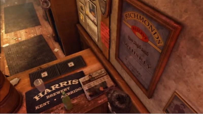 Easter egg foi colocado em Uncharted 3 como um teaser para The Last of Us (Foto: Reprodução)