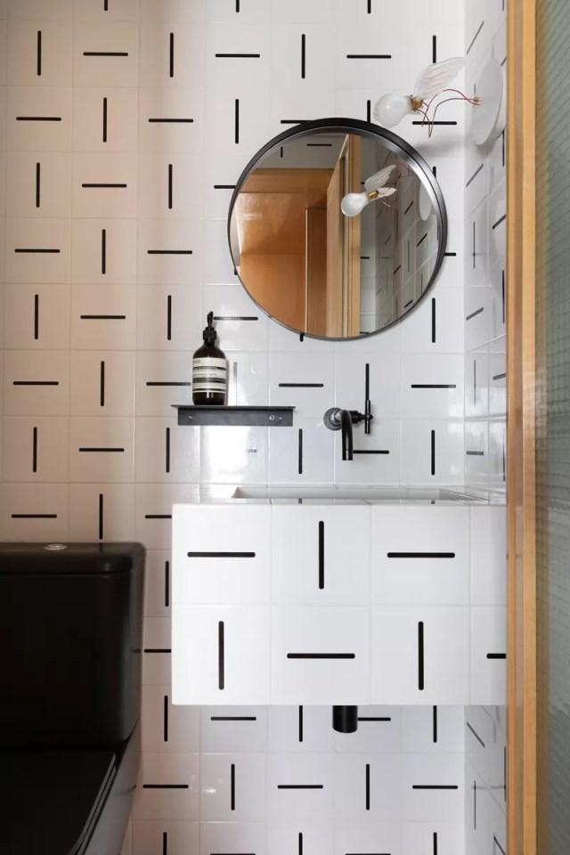 13 projetos que realizaram o sonho do banheiro industrial (Foto: Lufe Gomes/Divulgação)