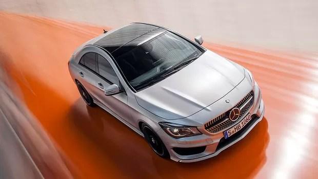 Mercedes-Benz CLA chega ao país até o começo de 2014 (Foto: Divulgação)