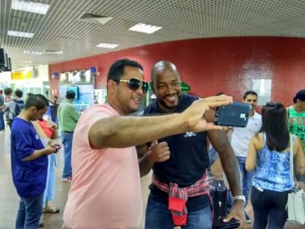 Fabão vai reencontrar os amigos na festa do Chulapa (Foto: Smack Neto/GloboEsporte.com)