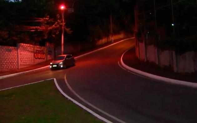 Entrada do bairro da Santa Cruz, em Salvador (Foto: Reprodução/TV Bahia)