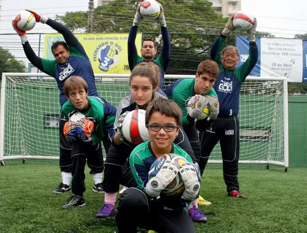 Zetti academia de goleiros (Foto: Anderson Rodrigues / Globoesporte.com)