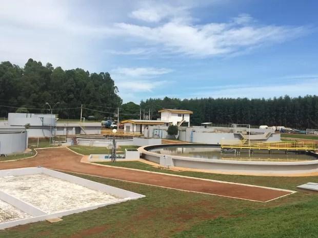 Laticínio inaugura Estação de Tratamento de Efluentes em Bela Vista de Goiás (Foto: Vitor Santana/G1)
