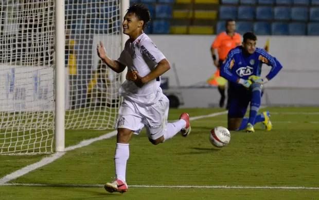 Neilton gol santos (Foto: Levi Bianco / Ag. Estado)