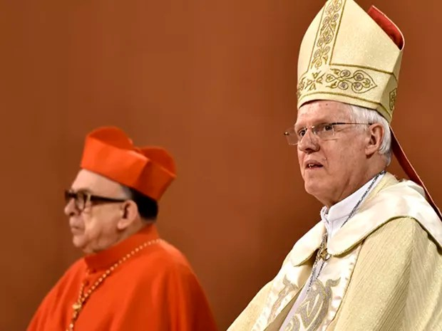 Dom Orlando Brandes é nomeado novo Arcebispo da Arquidiocese de Aparecida (Foto: Thiago Leon/ Santuário Nacional de Aparecida)