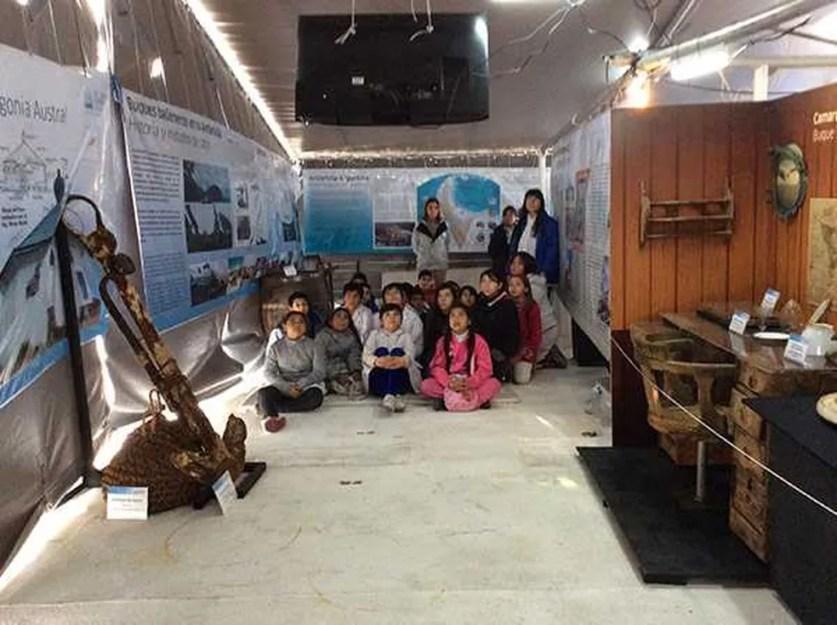 Ice Lady Patagônia expõe museu itinerante com fotos e videos sobre a Patagônia. (Foto: Divulgação/Assessoria)