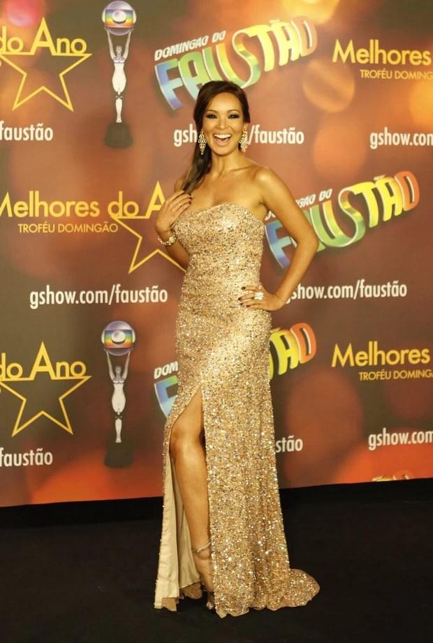 Carol Nakamura no Prêmio Melhores do Ano (Foto: Marcos Serra Lima / EGO)