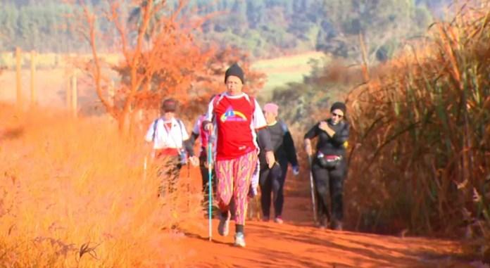 Caminho da Fé passa por Tambaú (Foto: Wilson Aiello/EPTV)