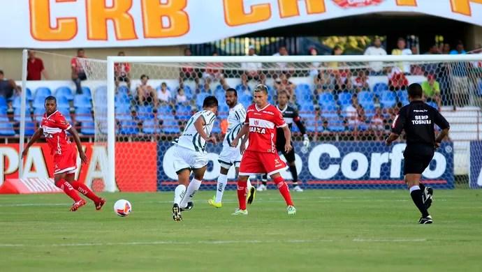 CRB X Luverdense, no Rei Pelé (Foto: Ailton Cruz/Gazeta de Alagoas)