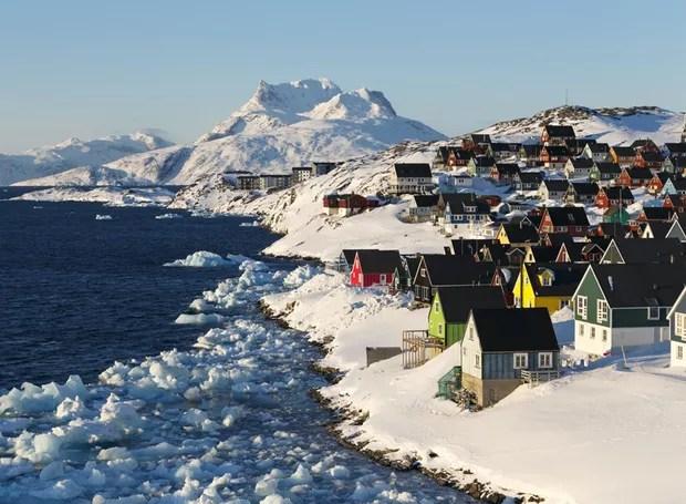 Nuuk, Gronelândia (Foto: Reprodução / House Beautiful)