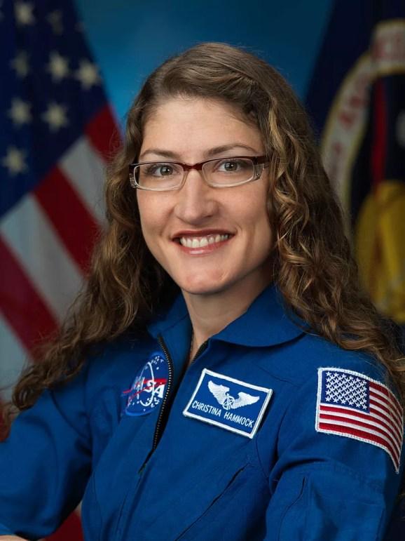 Astronauta Christina M. Hammock (Foto: NASA/Wikimedia Commons)