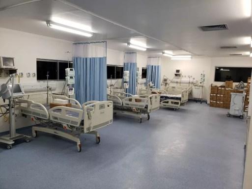 Leitos de UTI instalados em hospital do RN (Arquivo) — Foto: Sesap/Divulgação