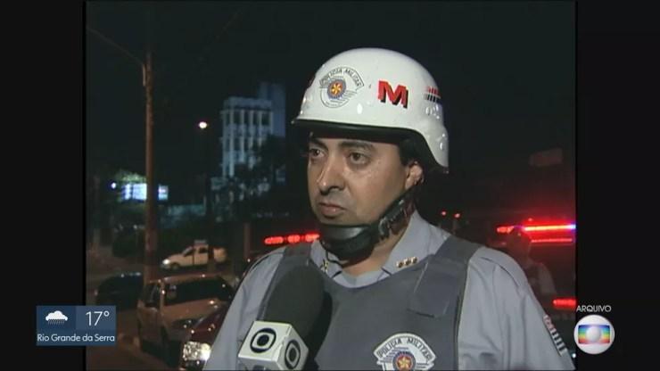O novo subprefeito da Mooca é o coronel reformado da Polícia Militar, Danilo Antão Fernandes. — Foto: Reprodução/TV Globo