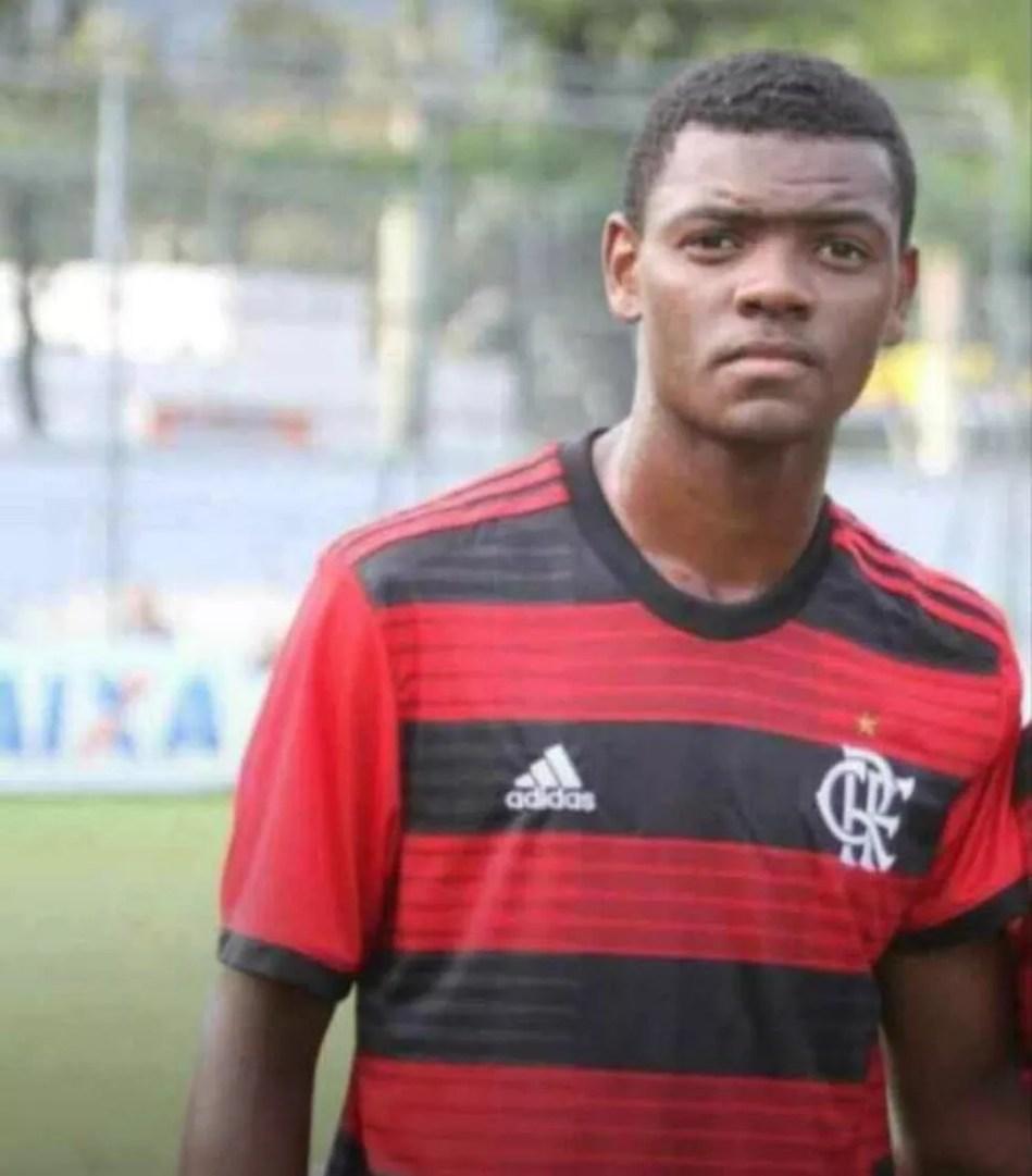 Pablo, do Flamengo — Foto: Arquivo Pessoal