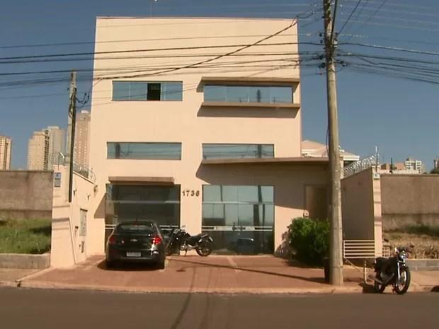 Uma das bases da empresa de Viviane funcionava na zona sul de Ribeirão Preto (Foto: Paulo Souza/EPTV)