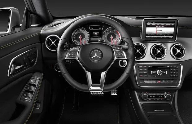Mercedes-Benz CLA (Foto: Divulgação)