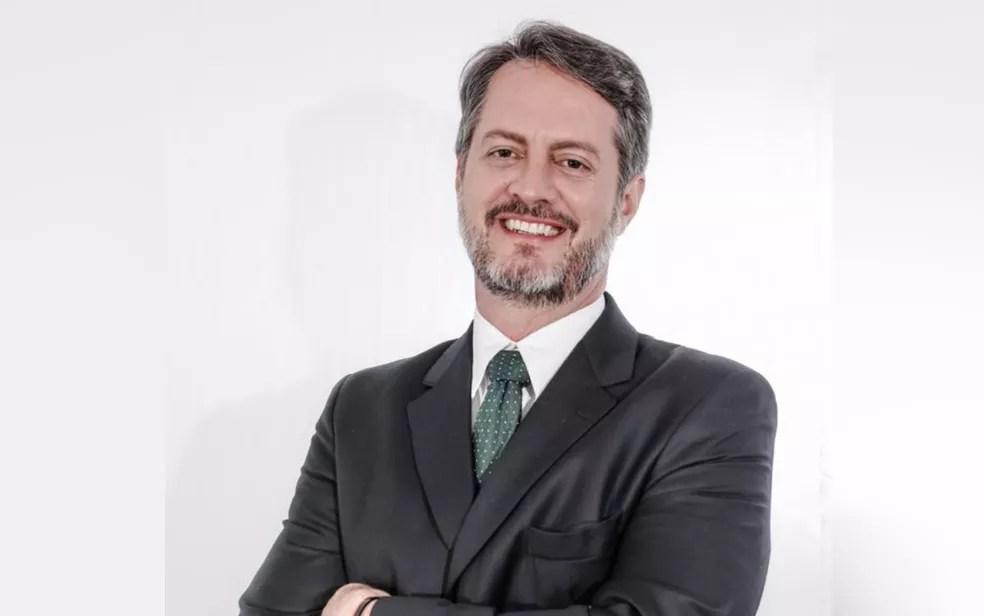 Advogado Cristiano Cunha é candidato a prefeito de Goiânia pelo Partido Verde — Foto: Reprodução/Cristiano Cunha