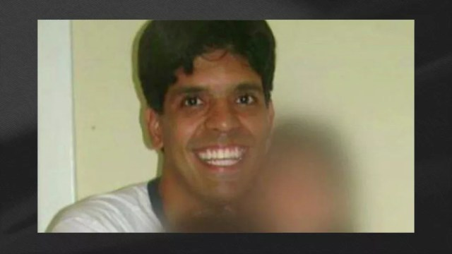 Marcelo Santoro foi preso no Rio de Janeiro (Foto: Reprodução/TV Globo)