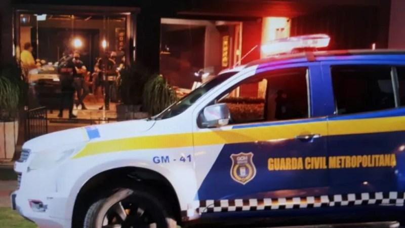 Toque de recolher em Campo Grande  — Foto: PMCG/Divulgação