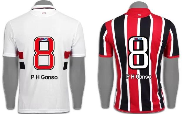 Camisa Ganso, São Paulo (Foto: Divulgação)