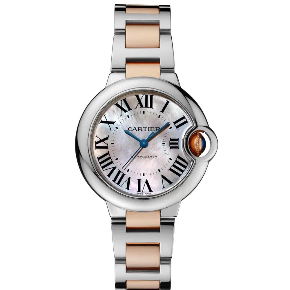 Detalhe do relógio Ballon Bleu, da Cartier (Foto: Divulgação)