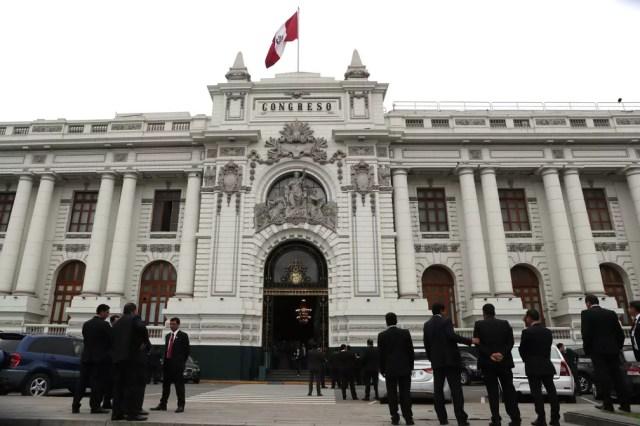 Fachada do Congresso do Peru, em Lima — Foto: Guadalupe Pardo/Reuters