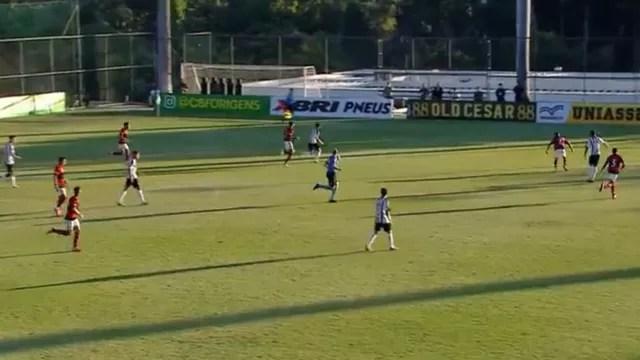 Atlético-MG x Flamengo, Brasileiro sub-20