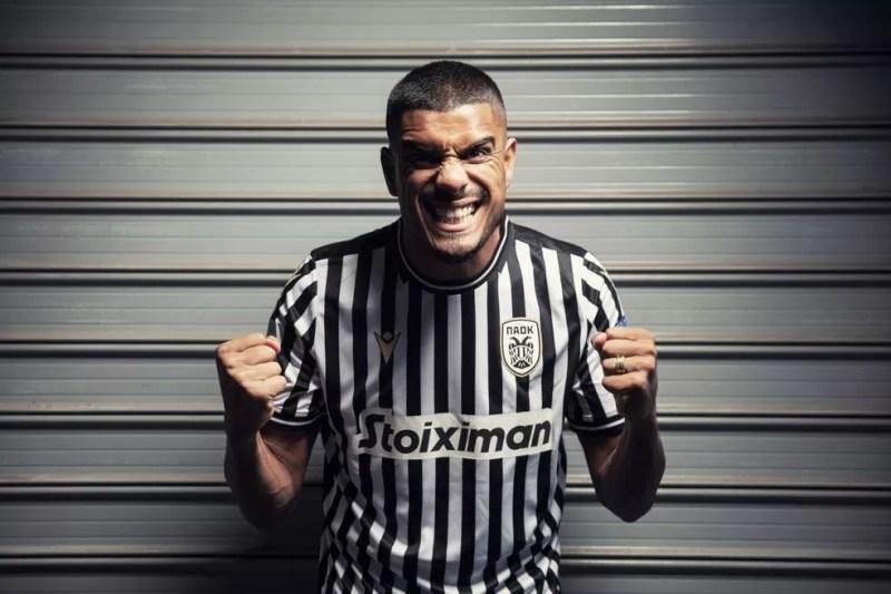 Léo Matos, reforço do Vasco, é ídolo e era capitão do PAOK — Foto: PAOKFC.GR