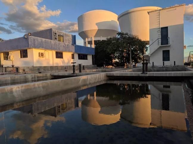 Estação de tratamento de água de Caicó — Foto: Caern