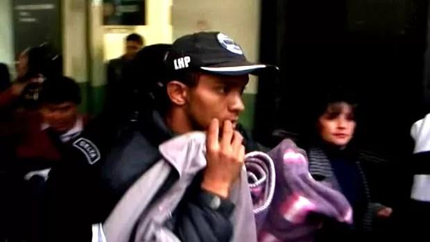 Cleuter Barreto Barros corintiano preso (Foto: Reprodução)