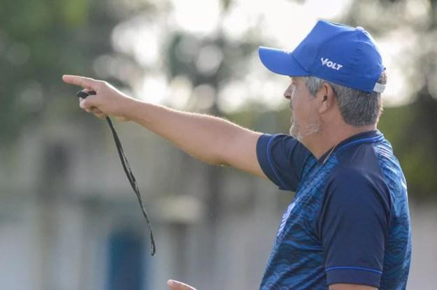 Ney Franco, técnico do CSA — Foto: Augusto Oliveira/Ascom CSA