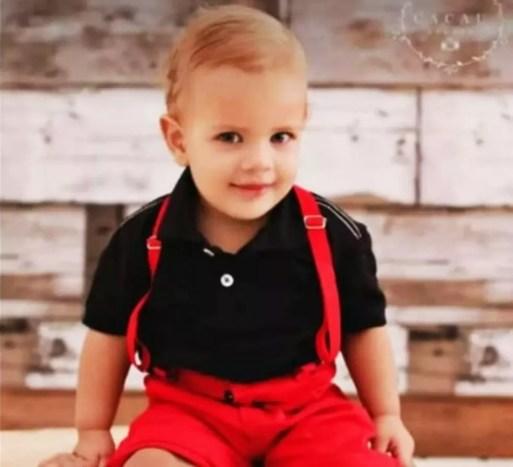 Anthony Calleb Bezerra da Silva tinha 1 ano e meio — Foto: Arquivo da família