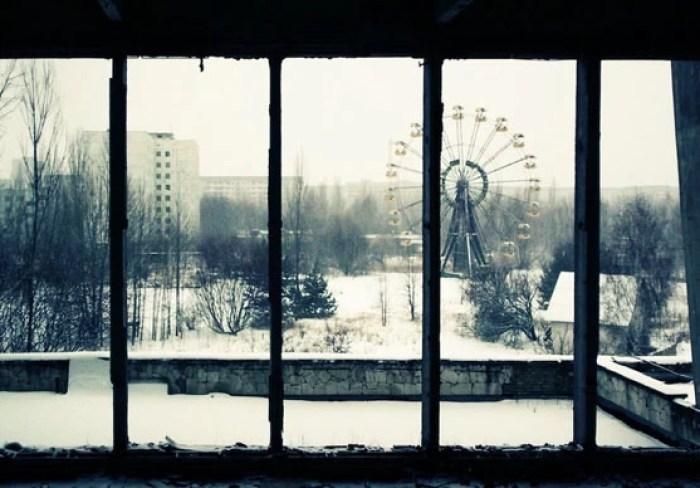 Cidade de Pripyat, na Ucrânia