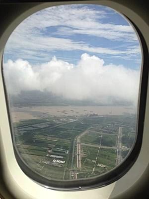 Chegada a Xangai (Foto: Alissa Haupt/Arquivo pessoal)