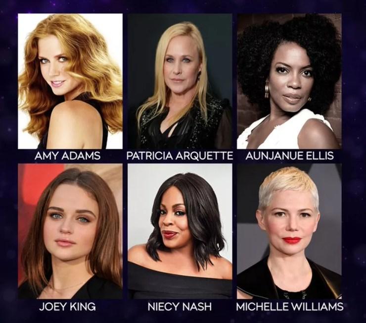 Indicadas a melhor atriz em série limitada ou telefilme no Emmy 2019 — Foto: Divulgação